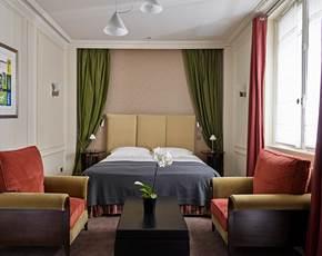 Chambre double supérieure | Hôtel La Trémoille