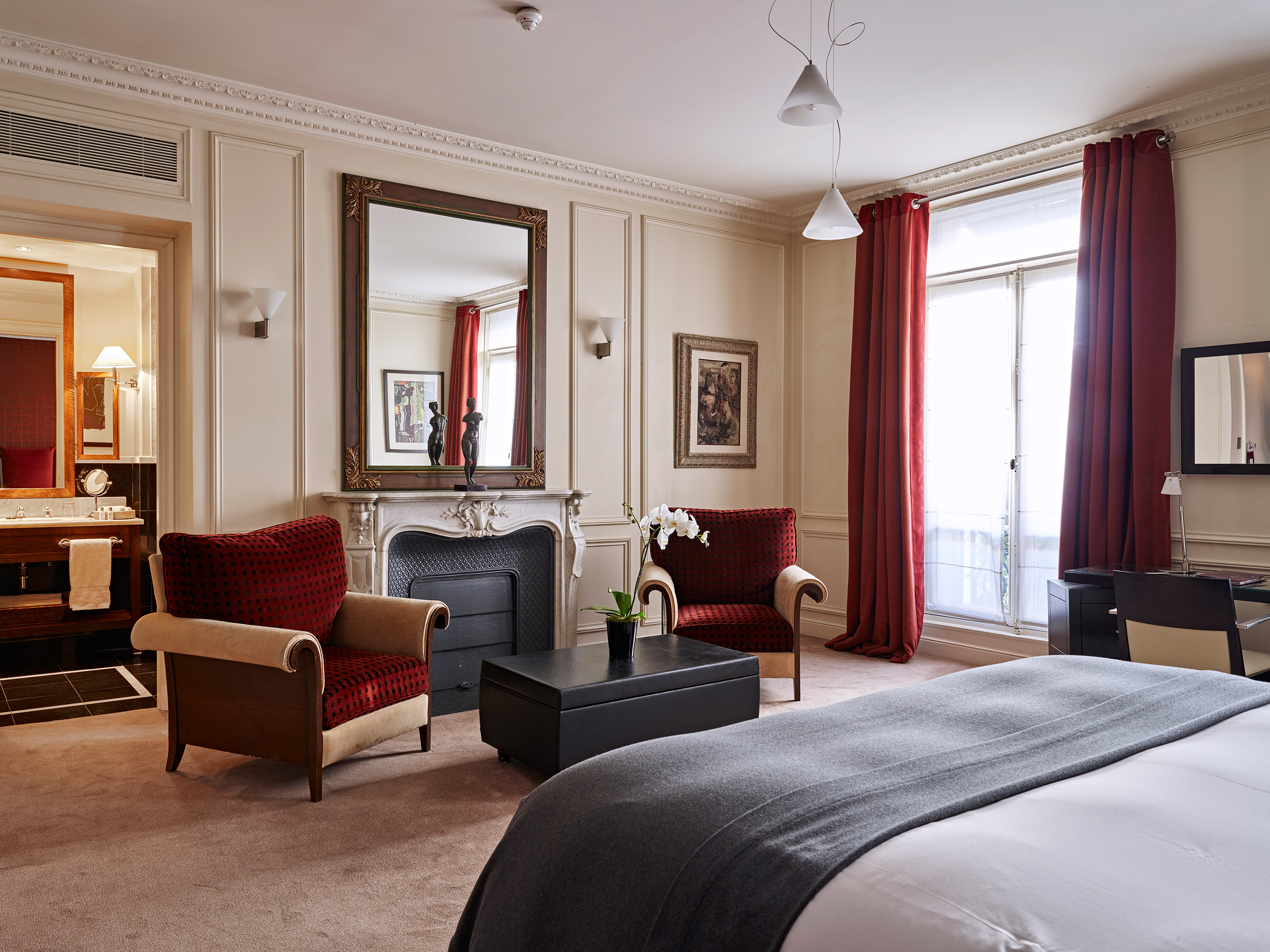 Chambre Double Deluxe. Image