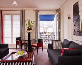 Chambre double standard   Hôtel La Trémoille