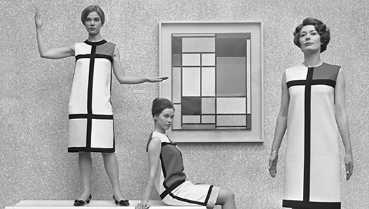 Mondrian Dress by Eric Koch / Anefo via Wikimedia Commons 530 x 300