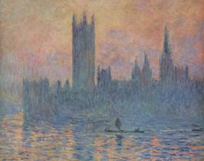 Monet's Painting of Parliament